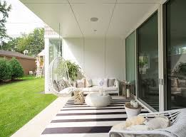 modern outdoor rugs strip