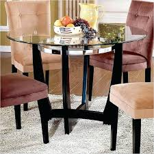 48 inch round glass table top dining combs extension with