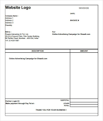 Download Simple Invoice Template Simple Invoice Template Free Simple Invoice Template Free