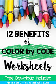 Color by number multiplication worksheets are very popular with parents as well as teachers. How To Use Color By Number Worksheets And Not Feel Guilty Primary Flourish