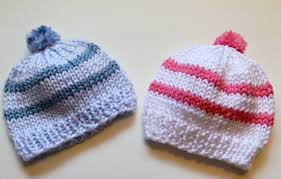 Free Knitting Patterns For Baby Hats Magnificent Knitting Newborn Hats For Hospitals The Make Your Own Zone
