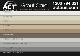 Grout Chart Act Australia Prism Fine Wall Floor Grout 7 7kg