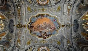 ballroom ceiling of the ca rezzonico with ceiling by giovanni battista crosato 1753