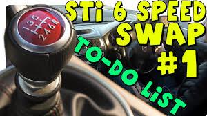 Sti Transmission Swap For Cheap Parts List Jdm V7 Sti 6 Speed Swap 1