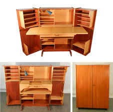 compact office furniture. Fine Office Teak And Sycamore Compact Home Office Desk Storage On Furniture A