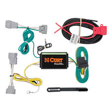 2016 2018 jeep cherokee curt mfg trailer wiring kit 56208