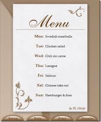 Restaurant Menu Creator Barca Fontanacountryinn Com