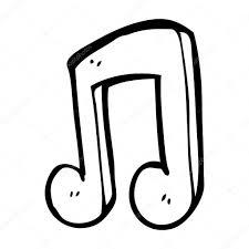 Note Musique Dessin Anime Image Vectorielle Lineartestpilot Note