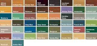 Sadolin Classic Colour Chart Black Wood Fence Stain Sadolin Extra Durable Woodstain