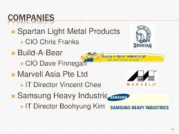 Spartan Light Metal Products Ppt Role Of The Cio Powerpoint Presentation Free Download