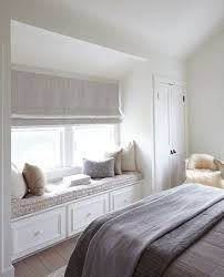 Really Like The Roman Blind And The Two Tone Curtains Combined Blinds In Bedroom Window