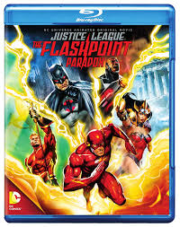 Amazon.com: Justice League: The Flashpoint Paradox [Blu-ray ...