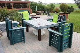 wood pallet outdoor furniture. Wooden Pallets Lounge For Garden Wood Pallet Outdoor Furniture