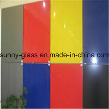 ce iso certificates decorative back painted glass wall panels