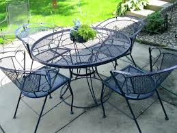 home depot metal chairs patio furniture how to clean and refinish simple metal patio furniture