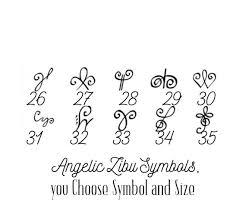 Zibu Symbols And Meanings Chart Angelic Symbol Tattoos