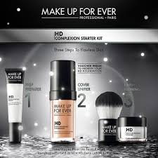make up for ever hd plexion starter kit makeup forever hd foundation starter kit uk