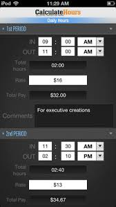 timesheetcalculator calculate hours worked timesheet calculator on the app store