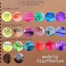 Earth Tone Set Ken Oliver Color Burst Powder 6