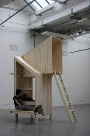 furniture architecture. thai graduate designer worapong manupipatpong has created an installation that is halfway between furniture and architecture u
