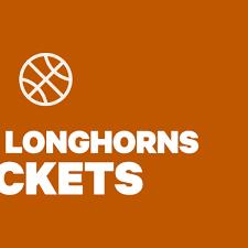 Texas Longhorns Basketball Tickets