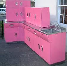 vintage english rose metal kitchen cabinets from spitfires to
