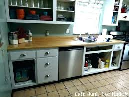 removing kitchen cabinet how to remove cabinets dishwasher medium size of without ikea
