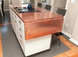 copper kitchen countertops copper island black chair black electric diy copper kitchen countertops
