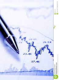 Tip Stock Chart Business Chart Crash Stock Photo Image Of Risk Declining
