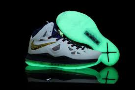 lebron james shoes. glow lebron james x men shoes in white.jpg lebron