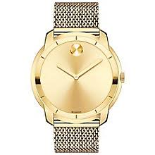 movado watches ladies men s movado designer watches ernest jones movado bold men s gold plated bracelet watch product number 5212367