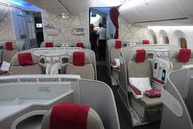 Royal Air Maroc Boeing 767 300 Seating Chart Review Royal Air Maroc Business Class 787 Doha To
