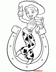 Coloring Pages : Pretty Jessie Coloring Page Toy Story Printable ...