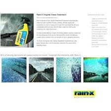 shower door water repellent rainx