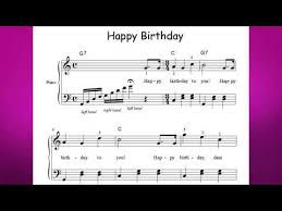 But actually seeing spots in your music where your arrangement is lacking can help your ears hear the problem. Happy Birthday Free Sheet Music For Guitar Piano Lead Instruments