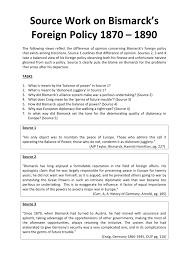 historical debate on bismarck source analysis worksheet