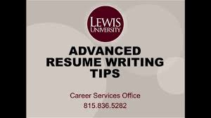 Advanced Resume Advanced Resume Writing Tips Youtube