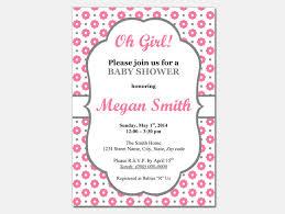 20 Sample Printable Baby Shower Invitation Templates Metal