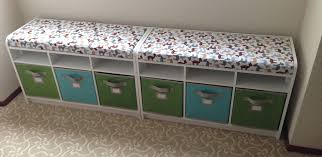 best storage bench with cushion