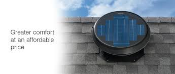 Solar Star Powered Attic Fans