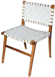 white strap leather dining chair earths on temple today furniture and interiors chairs gumtree perth