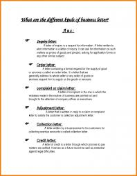 different cover letters 005 types of business letter format different with example