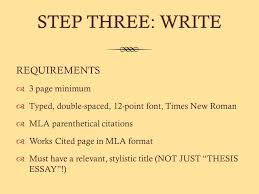 focused thesis expository essay ppt  13 step