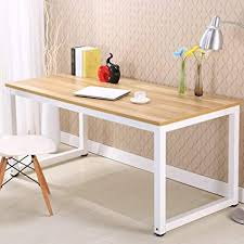 Home Office Desks Furniture Cool Amazon Modern Simple Style Computer Desk PC Laptop Study Table
