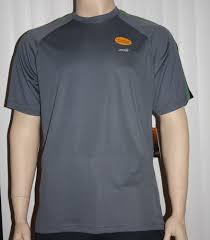 Avia Mens Dri Control Upf 25 Uv Protection Shirt Gray