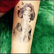 в японском стиле 3d татуировки временные татуировки наклейки флэш татуировки секс