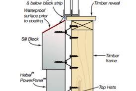 aluminum window sill detail architectural presentation