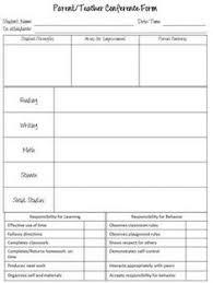 Parent Teacher Conference Form Template 63 Best Parent Teacher Conference Form Images Teacher