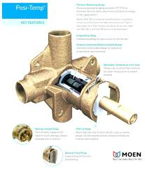 moen shower cartridge chrome single handle temp pressure balanced shower trim with shower head from the