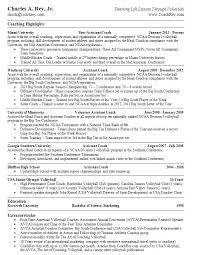 Assistant Coach Sample Resume Coaching Resume Templates Basketball Coach Examples Soccer 2